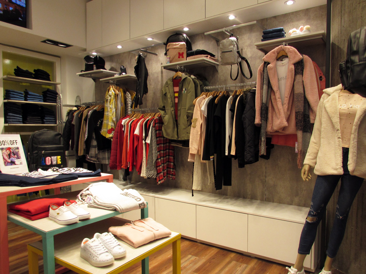 Tiendas de ropa para adolescentes